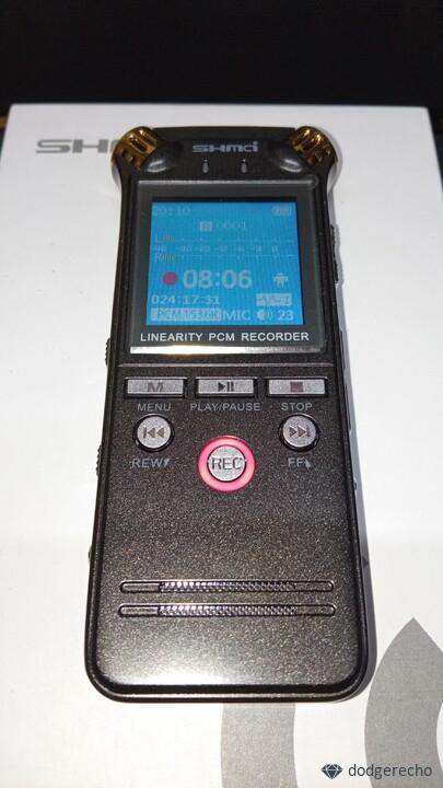 Обзор цифрового диктофона Shmci D50 с качеством записи 1536кБт/с миф или правда, разберем посмотрим!